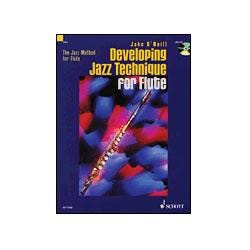 Image for Developing Jazz Technique for Flute - The Jazz Method for Flute (Book/CD) from SamAsh