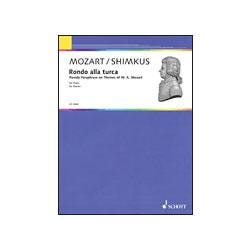 Image for Shimkus Rondo Alla Turca from Parody Paraphrase on Themes of Mozart (Piano) from SamAsh