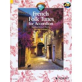 Hal Leonard French Folk Tunes for Accordion-Book & CD