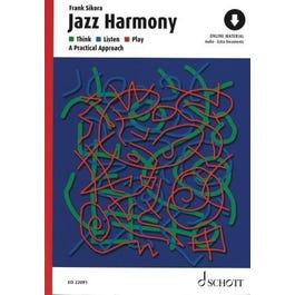 Hal Leonard Jazz Harmony-Think - Listen - Play: Book + Audio Online