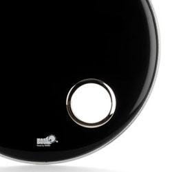 """Image for HC4 4"""" Chrome Bass Drum Hole Reinforcing Ring from SamAsh"""