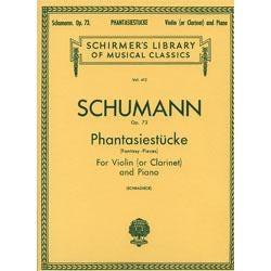 Image for Schumann Phantasiestücke (Fantasy Pieces) (Clarinet / Piano / Violin) from SamAsh