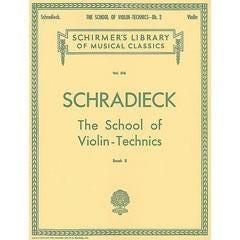 Image for School of Violin Technics - Book 2 (Violin) from SamAsh