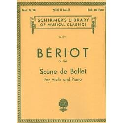 Image for DeBeriot Scene de Ballet from SamAsh