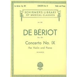 Image for DeBeriot Concerto No. 9 in A Minor from SamAsh