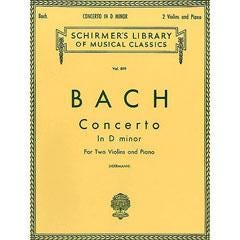 Image for Bach: Concerto in D minor (Piano / Violin) from SamAsh