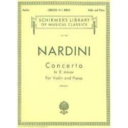 Image for Nardini Concerto in E Minor (Orchestra / Piano / Violin) from SamAsh