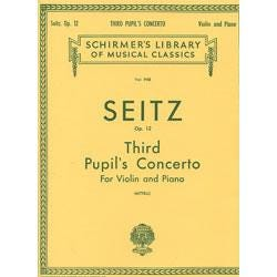 Image for Seitz Pupil's Concerto No. 3 in G Minor from SamAsh