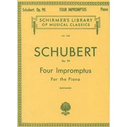 Image for Schubert 4 Impromptus Op. 90 for Piano from SamAsh