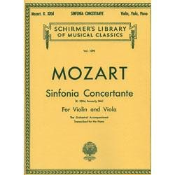 Image for Mozart Sinfonia Concertante Score and Parts for Violin from SamAsh
