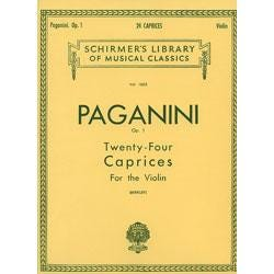 Image for Paganini 24 Caprices Op. 1 for Violin from SamAsh