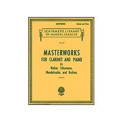 G. Schirmer Masterworks for Clarinet and Piano