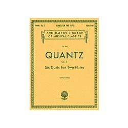 Image for Quantz 6 Duets for 2 Flutes from SamAsh