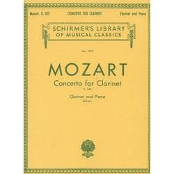 Image for Mozart: Concerto in A Op. 107 (K.622) for Clarinet from SamAsh