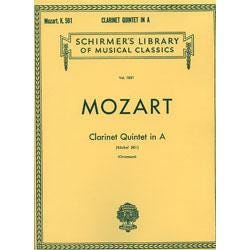 Image for Mozart Clarinet Quintet in A from SamAsh