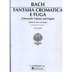 Image for JS Bach Chromatic Fantasy and Fugue for Piano from SamAsh