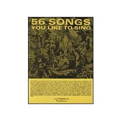 Image for 56 Songs You Like To Sing (Voice/Piano) from SamAsh