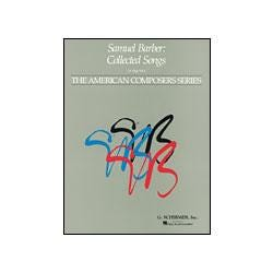 Image for Samuel Barber Collected Songs for High Voice from SamAsh