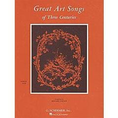 Image for Great Art Songs of Three Centuries (High Voice) from SamAsh