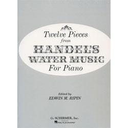 Image for Handel: 12 Pieces From Water Music (Solo Piano) from SamAsh