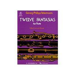 Image for Twelve Fantasias for Solo Flute from SamAsh