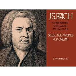 Hal Leonard Bach -Selected Works for Organ Solo