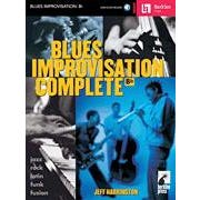 Hal Leonard Blues Improvisation Complete for Bb Instruments -Audio Online