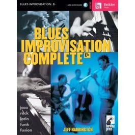 Hal Leonard Blues Improvisation Complete for Eb Instruments Book and CD