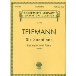 Image for Telemann Six Sonatinas (Piano / Violin) from SamAsh