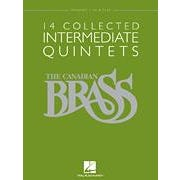 Image for 14 Collected Intermediate Quintets -Trumpet 2 in B-flat from SamAsh
