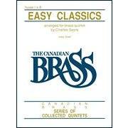 Hal Leonard Easy Classics - 1st Trumpet -Brass Ensemble