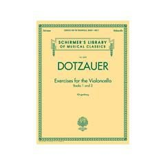 Image for Dotzauer-Exercises for the Violoncello - Books 1 and 2 from SamAsh