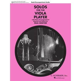 Hal Leonard Solos for the Viola Player -Book + Audio Online