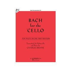 Image for Bach for the Cello (Book and CD) from SamAsh