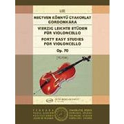 Hal Leonard 40 Easy Studies for Violoncello in the First Position, Op. 70