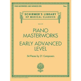 Hal Leonard Piano Masterworks - Early Advanced Level-Volume 2112