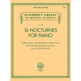 Hal Leonard 16 Nocturnes for Piano