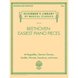 Hal Leonard Beethoven: Easiest Piano Pieces