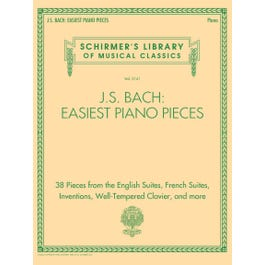 Hal Leonard J.S. Bach: Easiest Piano Pieces