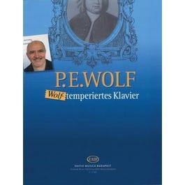 Hal Leonard Wolf-Temperiertes Klavier-24 pieces for piano