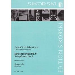 Hal Leonard Shostakovich -String Quartet No. 8