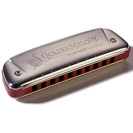 Image for Golden Melody Harmonica (Assorted Keys) from SamAsh