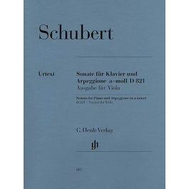 Hal Leonard Schubert -Sonata for Piano and Arpeggione- Viola and Piano