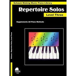 Hal Leonard Repertoire Solos Level 3-Piano Library