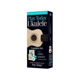 Hal Leonard Play Today Ukulele Complete Ukulele Starter Kit (Ukulele/Book/CD/DVD)