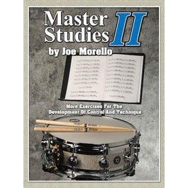 Hal Leonard Joe Morello- Master Studies II-For Percussion