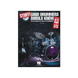 Image for Stuff! Good Drummers Should Know-An A-Z Guide to Getting Better (Book and CD) from SamAsh