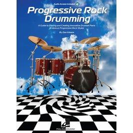 Hal Leonard Progressive Rock Drumming-Audio Online
