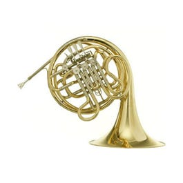 Hans Hoyer 6801-L Heritage Series Double F/Bb French Horn (Fixed Bell - Yellow & Gold Brass Finish)
