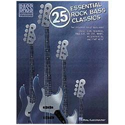 Image for 25 Essential Rock Bass Classics - Bass Recorded Versions from SamAsh